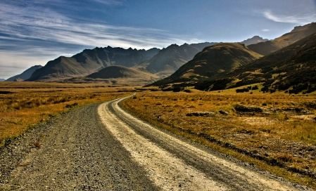 Road to Eyre Mountains