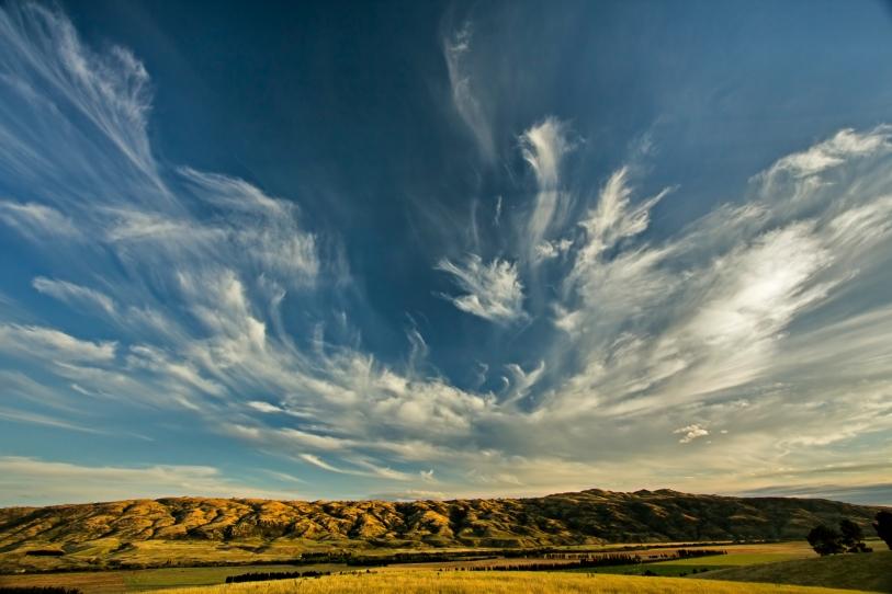 Cloud Over Blackstone Hills