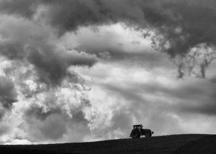 Tractor in Cloud Envelope