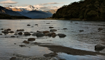 Haast River to Mt Hooker