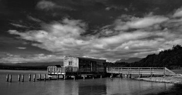 Wharf at Okarito