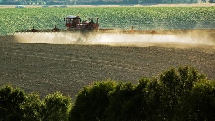 Crop Spraying in Action