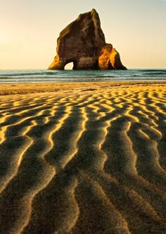 Sand Ripples to Seastack